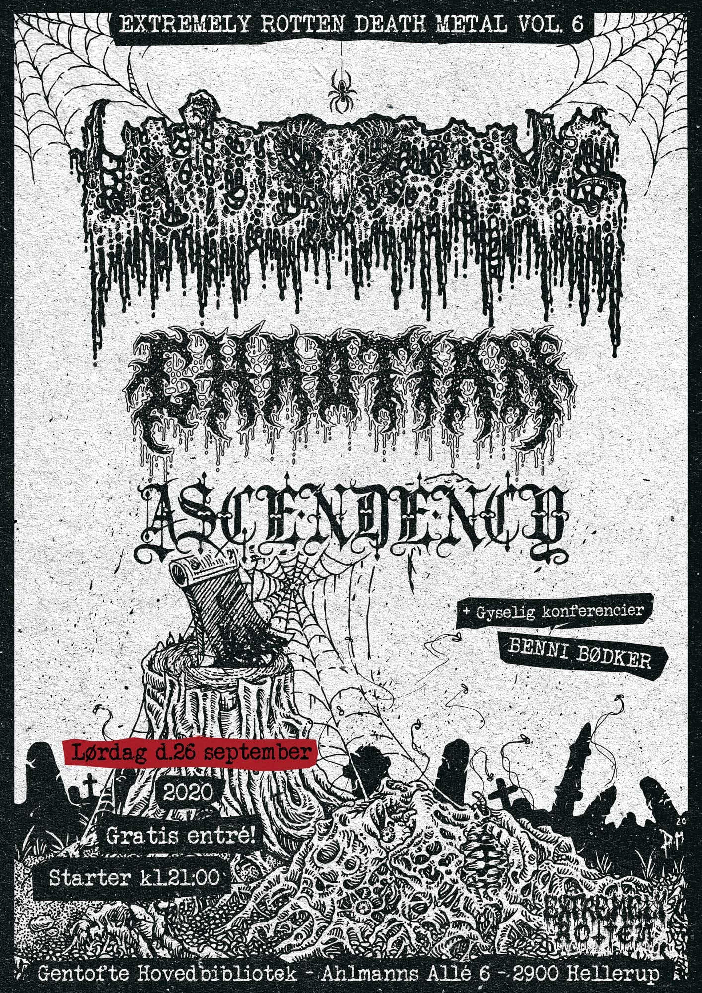 EXTREMELY ROTTEN DEATH METAL VOL. 6