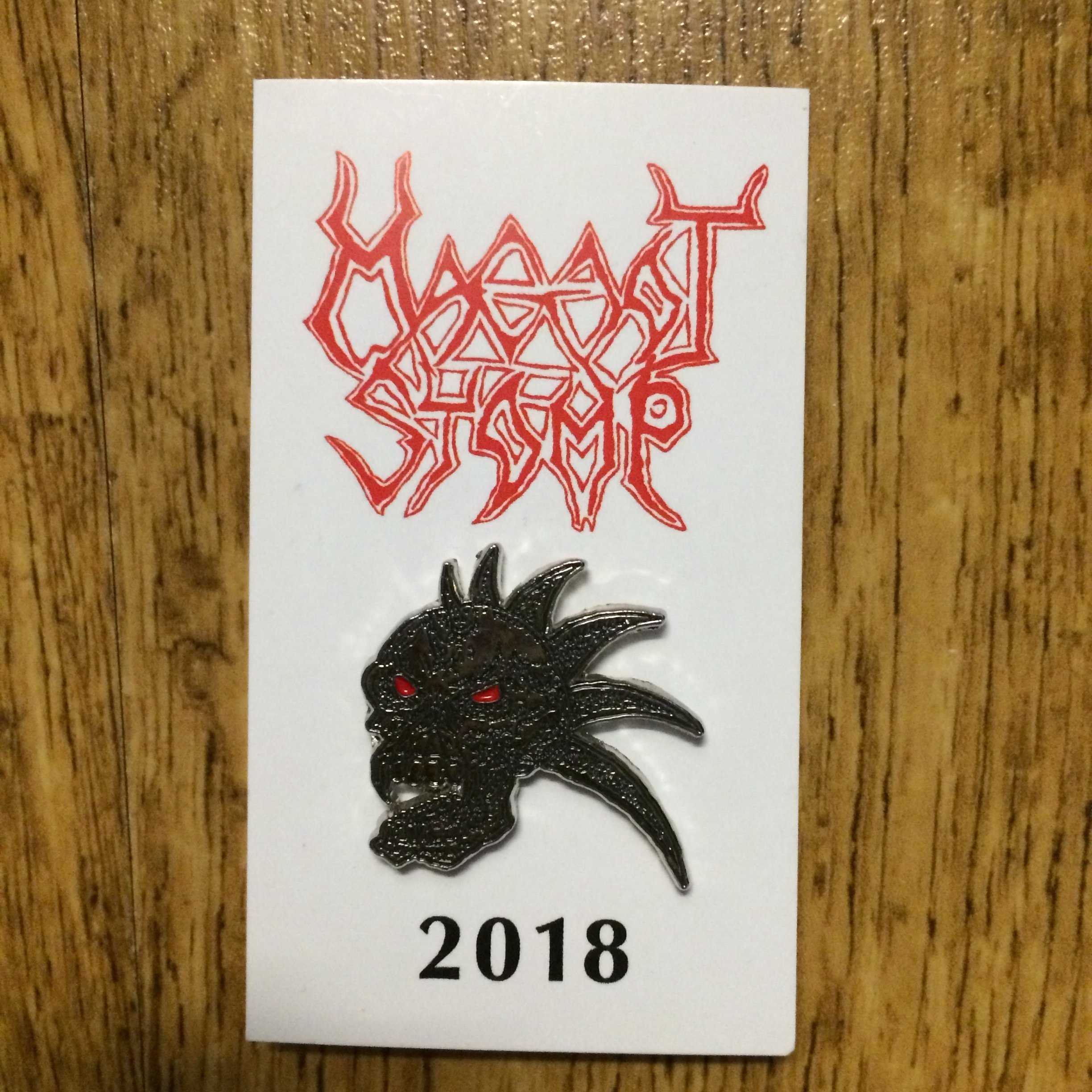 Photo of the Malevolent Creation - metal pin