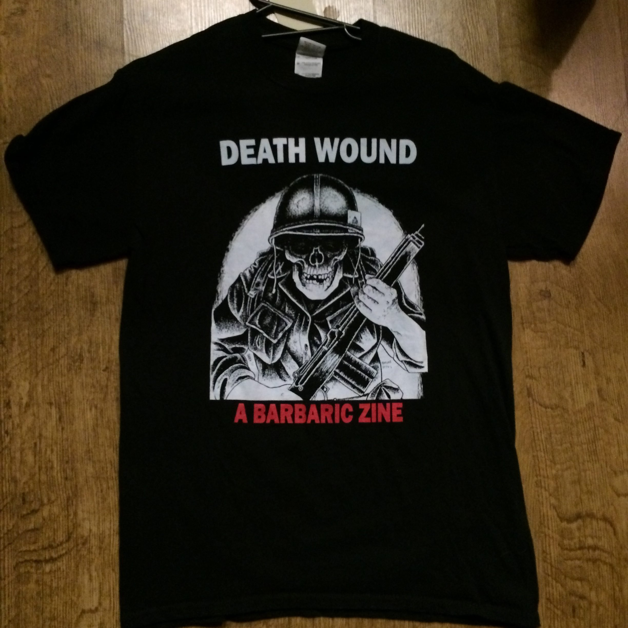 Photo of the Death Wound T-shirt (Black)