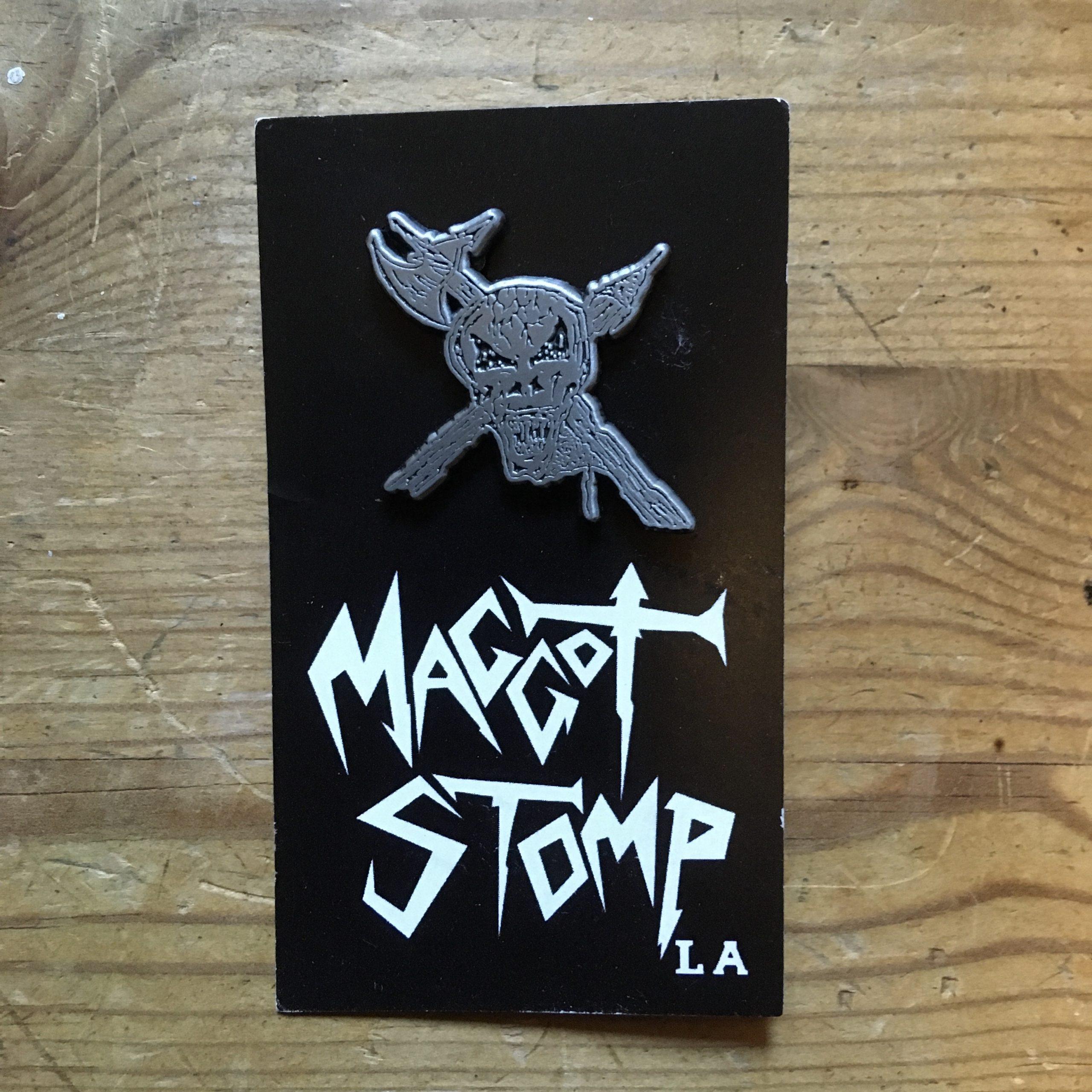 Photo of the Rigor Mortis - metal pin