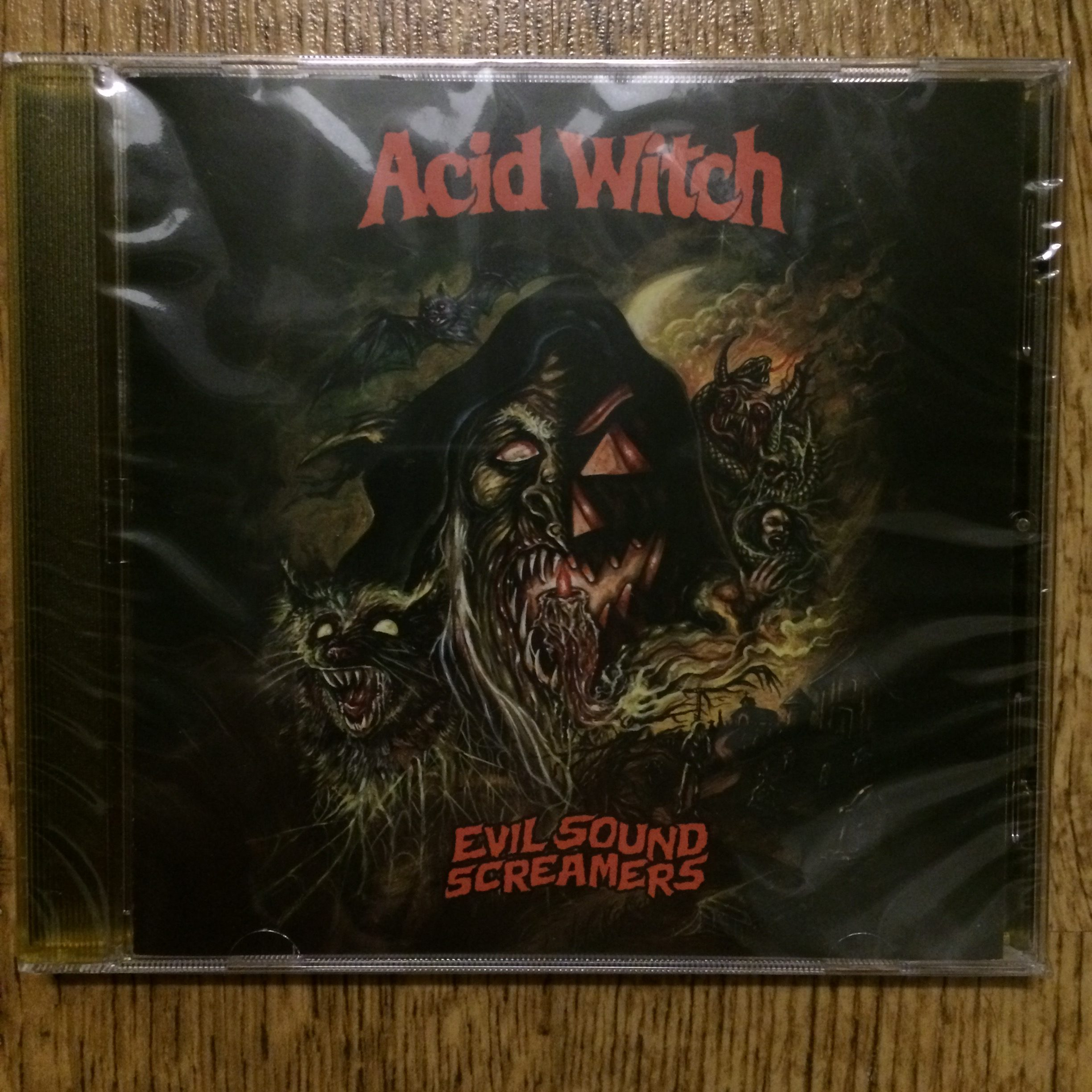 Photo of the Acid Witch -