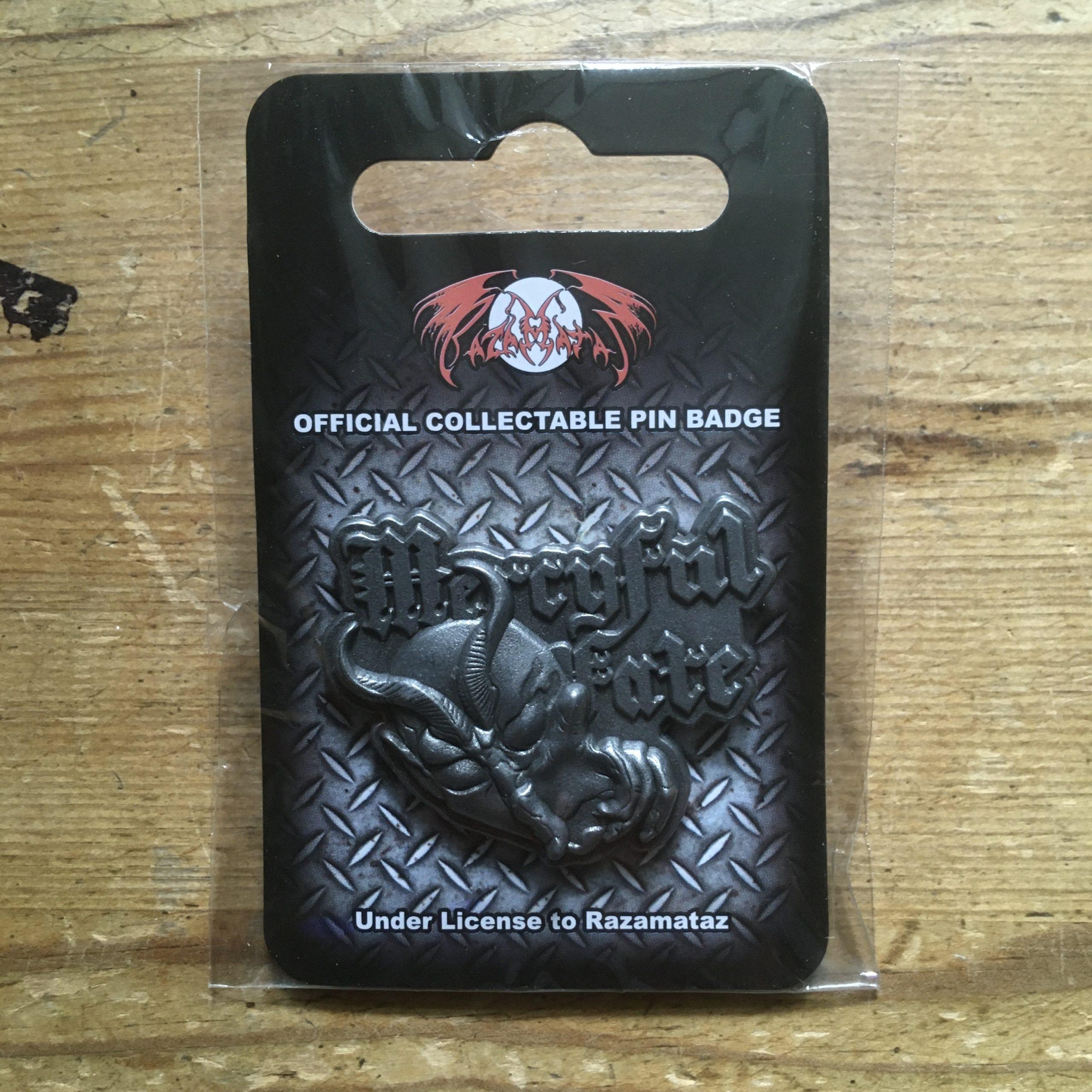 Photo of the Mercyful Fate - metal pin